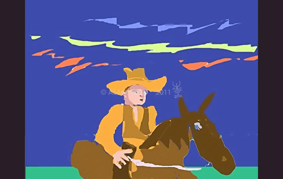 st elmo's cowboy